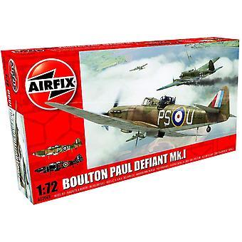 Airfix A02069 Skála Boulton Paul Defiant Mk.1 1:72 Modell Kit