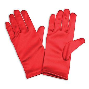 Gloves. Childs Red