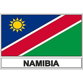 NAM Namibia flag sticker