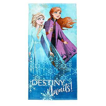 Frozen 2 Childrens/Kids Destiny Awaits Beach Towel