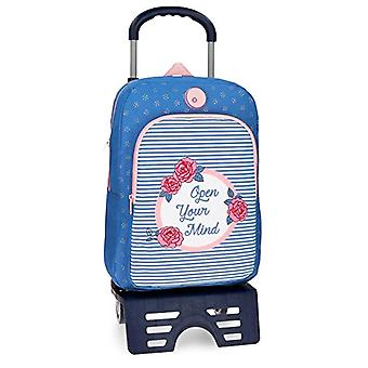 Roll Road 44823N1 Junior Backpack with Cart - Pink