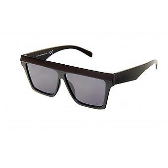 Sunglasses Women Rectangular Black/Grey (20-012)
