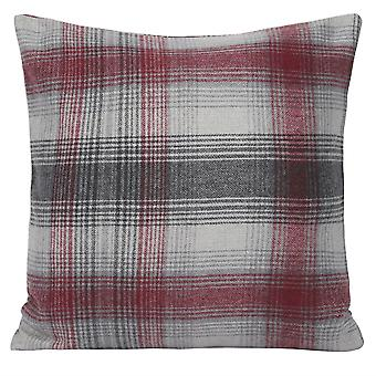 Plaid thick pillowcase Polyester square pillowcase for sofa and bed 45x45cm