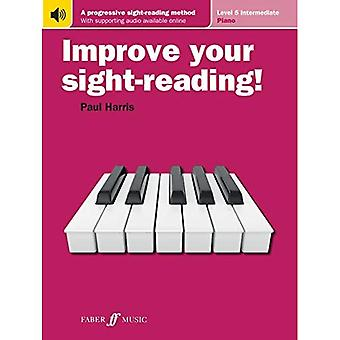 Improve Your Sight-Reading! Piano: Level 5 / Intermediate (Paperback)