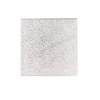 "Culpitt 8"" (203mm) Hardboard Square Turn Edge Cards Silver Fern (3mm Thick) Pack de 10"