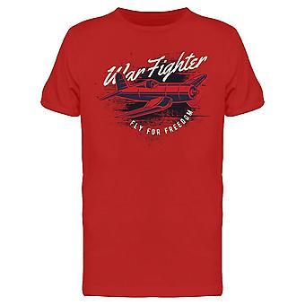 Fly For Freedom Vintage Design Tee Men's -Kuva Shutterstock