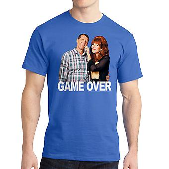Married With Children Game Over Men's Royal Blue T-shirt