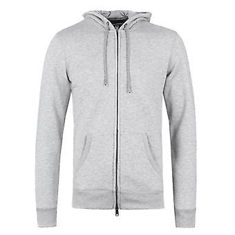 Emporio Armani grå mergel bløde hættetrøje