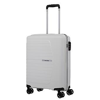 travelite Nubis Handbagage Trolley S, 4 wielen, 55 cm, 38 L, Wit