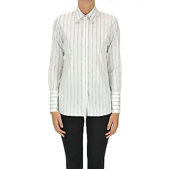 Pinko Ezgl016464 Women's White Cotton Shirt