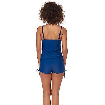 Skechers Womens Core Solids Swim Separates (Tops & Bottoms), Calypso Coral Ta...
