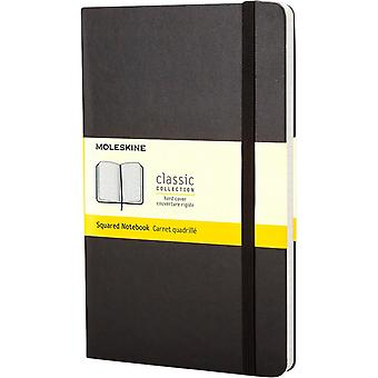 Moleskine Classic PK Hard Cover Squared Notebook