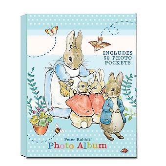 Peter Rabbit Boxed Keepsake Photo Album 100 Photos Christening New Baby