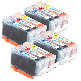 4 conjuntos compatíveis de 3 C/M/Y HP 364 (HP364XL) Cartuchos de tinta da impressora (conjunto de cores)