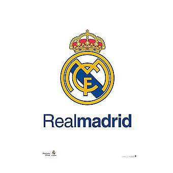 Real Madrid CF Crest affiche