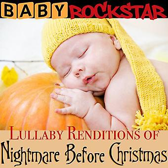 Baby Rockstar - Lullaby Renditions of the Nightmare Before [CD] USA import