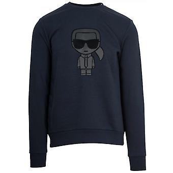 Lagerfeld marine Crew Neck Sweatshirt