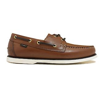 Loake 528CD Cedar Leather Mens Lace Up Deck Shoes