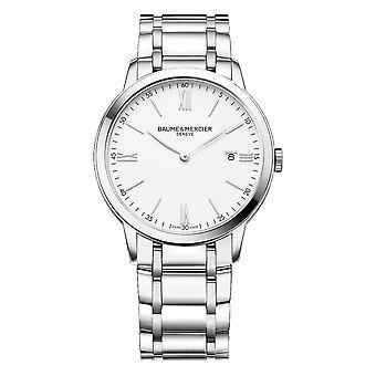 Baume & Mercier BM0A10354 Classima White Dial Wristwatch