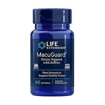 MacuGuard Ocular Support 60 softgels