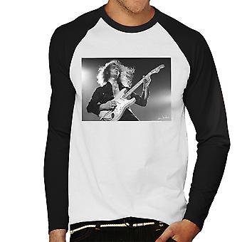 Ritchie Blackmore Deep Purplen 1973 miesten baseball pitkähihainen t-paita