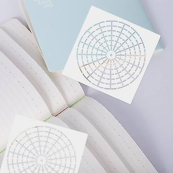 Reusable Mylar Mandala Dotting Painting Stencils Templates Tools For Diy Craft