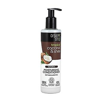 Hydrating Coconut and Shea Organic Conditioner (bdih) 280 ml