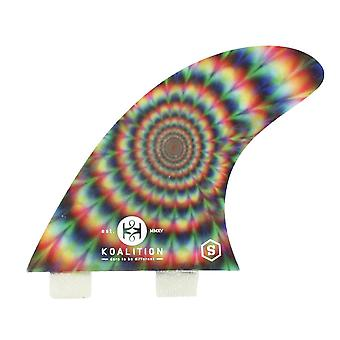 Koalition psych thruster fins double onglet grande
