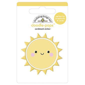 Doodlebug Design Hauskaa auringossa Doodle-Pops