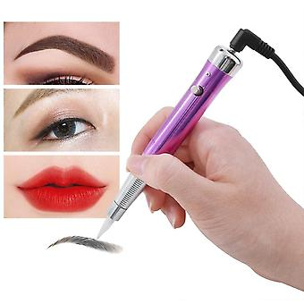 Tattoo Permanent Makeup Pen Machine - Eyebrow  Lip Tattoo Machine With Swiss Motor