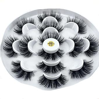 Natural False Eyelashes Long Makeup Extension For Makeup