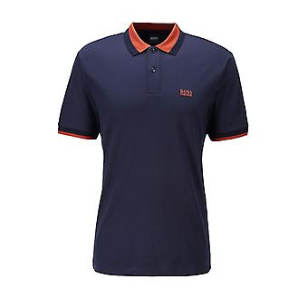 BOSS Casualwear Boss Parley 88 Polo Shirt Dark Blue