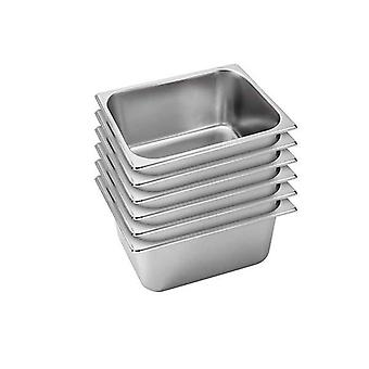 Soga 6X Gastronorm Full Size Gn Pan 15Cm Deep Stainless Steel Tray