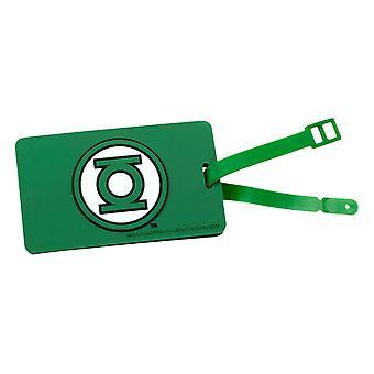 Bagage Tag - DC Comics - Green Lantern Logo Ny Licenseret dcc-0213