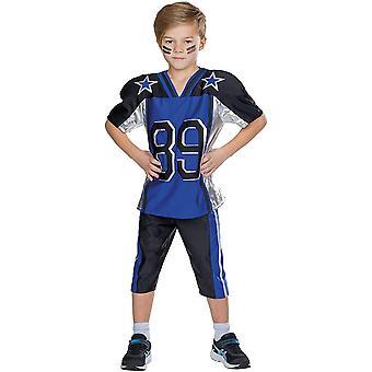 Jogadores de futebol kids atletas fantasia Carnaval Jersey Rugbee Futebol Americano