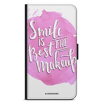 Bjornberry محفظة القضية LG G5 - ابتسامة يقتبس