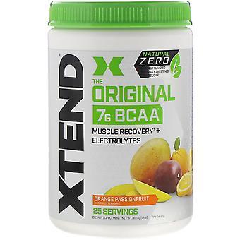 Xtend, Xtend, The Original 7G BCAA, Natural Zero, Orange Passionfruit, 13 oz (36