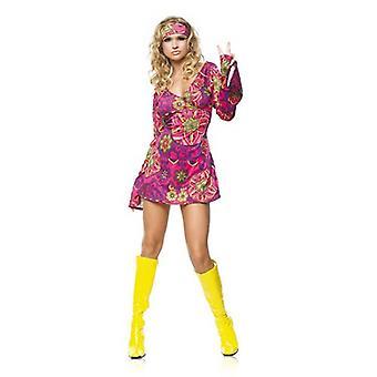 Hippie Girl Costume - Small/Medium - Dress Size 4-8