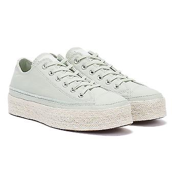 Converse All Star Espadrille Womens Light Green Trainers