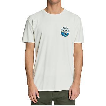 Quiksilver Twinny T-Shirt de manga curta em Branco de Neve