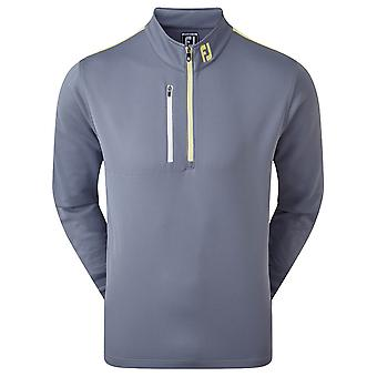 Footjoy Mens Sleeve Stripe Chill-Out 1/2 Zip Wicking Golf Midlayer
