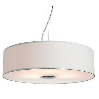 Firstlight Madison - 3 Light Round Ceiling Pendentif Cream, E27