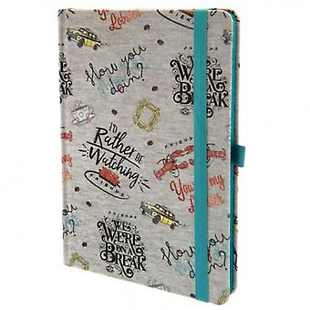 Friends Premium Notebook Marl