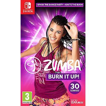 Zumba Burn It Up! Nintendo Switch Game