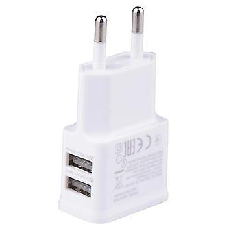 Ac-dc 220c から 5v 充電器 EU プラグ 携帯電話 コンバーター - 電源アダプター ダブル