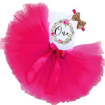Enfants Tutu Jupes- Event Baby First Birthday Party, Outfit Infant 1 Year Baptism