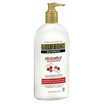 Gold Bond Ultimate Diabetic Dry Skin Relief Lotion, Fragrance Free 13 oz