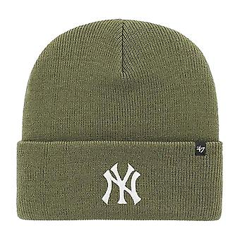 47 Brand Beanie Winter Hat - HAYMAKER New York Yankees moss