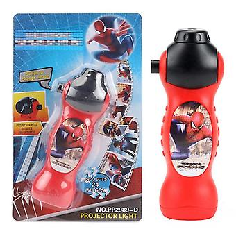 Dinosaur Spider-man Projector Toy Flashlight, Sleeping History, Early Education