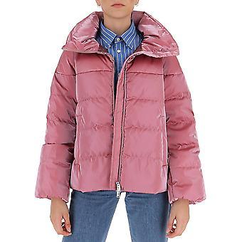Aggiungi 2awc012313 Women's Pink Nylon Down Jacket